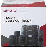 CoreStation 4 Door Access Control Kit (with Xpass D2 Gangbox RF Card readers)