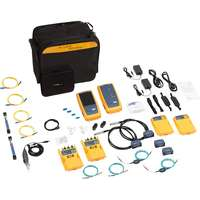 1 GHz DSX-5000 CableAnalyzer, CertiFiber Pro Quad (Multimode and Singlemode) OLTS Modules & Inspection Camera