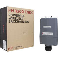 Fluidmesh 3200 ENDO, single-radio 2x2 MIMO wireless mesh router operating at 4.9-5.8 GHz. 30 Mbit/s Ethernet Throughput (no mobility application)
