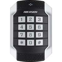 Hikvision External Vandal Resistant Card Reader Keyboard RS-485 Wiegand