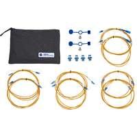 FiberTek III-Cable and adapter kit LC Singlemode 9/125µm