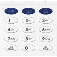 KEYPAD WITH CONTACTLESS RFID TECHNOLOGY-White