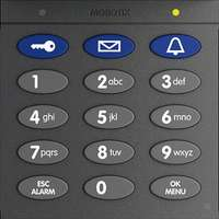 Keypad With RFID Technology For T26, Dark Gray