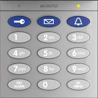 Keypad With RFID Technology For T26, Silver