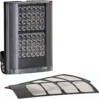 VARIO2 i2-1 standard pack, 10°x10°, 35°x10° and 60°x25° angles included, 12-24V AC/DC, black